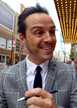 Andrew Scott i september 2014.