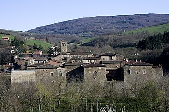 Sainte-Croix-en-Jarez - The priory in Sainte-Croix-en-Jarez