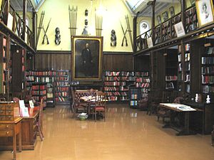 Prince Consort's Library - Interior of the Library in 2007