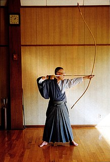 art of Japanese archery