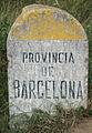 Provincia de Barcelona - border stone.jpg