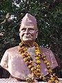 Pruthvisinh azad bust at bhavnagar 3.jpg