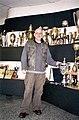 Prvoslav Vujcic in Partizan Belgrade trophy room.jpg