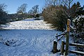 Public footpath through the snow - geograph.org.uk - 1650099.jpg