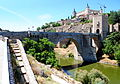 Puente de Alcántara, Toledo, August 2012.JPG