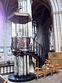 Pulpit by Henry Wilson in Ripon Cathedral 01.jpg