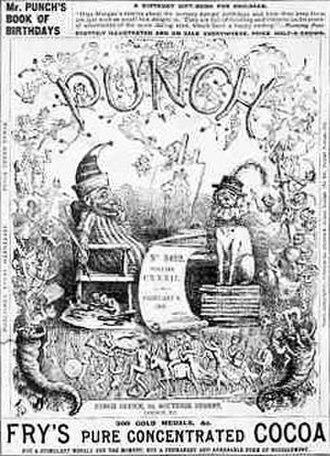 Satire - 1867 edition of Punch, a ground-breaking British magazine of popular humour, including a great deal of satire of the contemporary, social, and political scene.