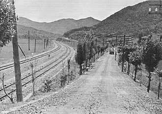 Battle of Pusan Perimeter - The main Seoul-Pusan railway and road was integral in bringing supplies to the front