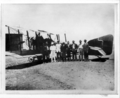 Queensland State Archives 3051 Arrival at Longreach of the Armstrong Whitworth FK8 with the first bag of air mail on the inaugural flight of the first Qantas air service from Charleville to Cloncurry 22 November 1922.png