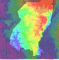 Quezon City Elevation Map.png