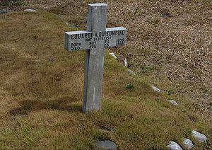 Eduardo Quisumbing - Quisumbing's grave at Heroes' Cemetery, Philippines