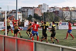 Rápido de Bouzas - A match against CD Barco in March 2016.