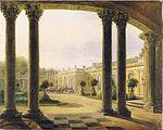 Rückseite vom Schloss Sanssouci-DE198.JPG