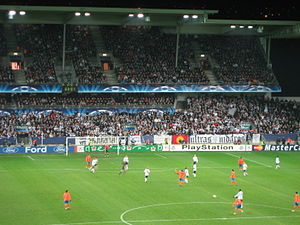 Rosenborg and Valencia at Lerkendal