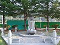 ROK Army 7th Infantry Division HQ - Bronze Sculpture of Major Simil 01.jpg