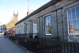 John Henderson (architect) - Henderson's first office at Blenheim Place, Edinburgh