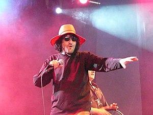 Rachid Taha - Taha performing in Belgium.