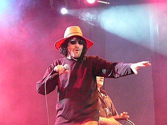 Rachid Taha - Taha performing in Belgium.