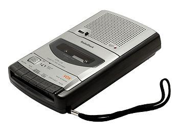 English: A RadioShack brand cassette recorder,...