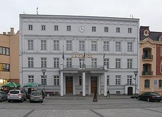 Hlučín Town in Czech Republic