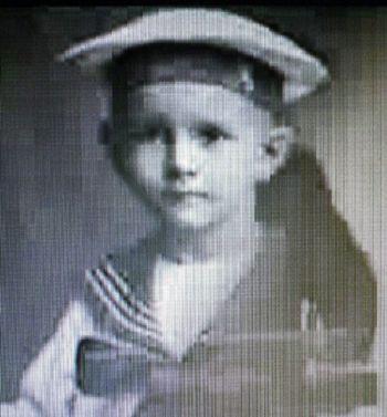Rafael Caldera as a kid