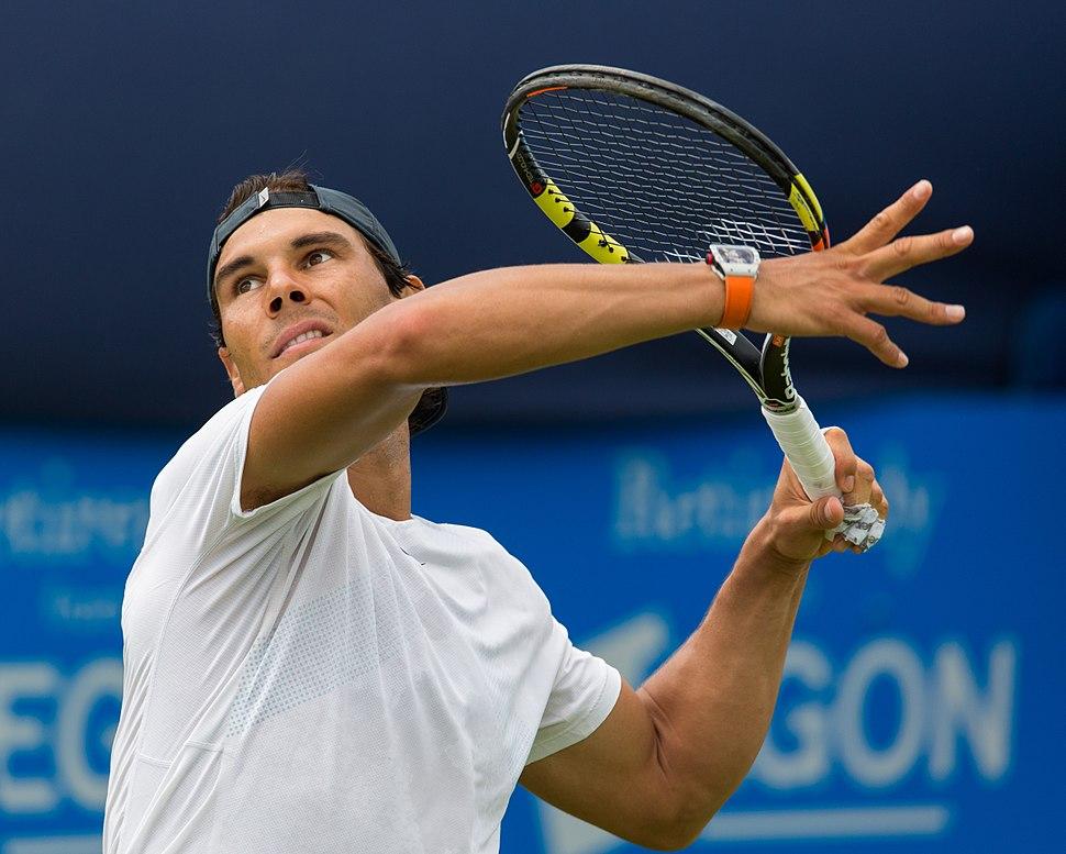 Rafael Nadal 8, Aegon Championships, London, UK - Diliff