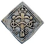 Raha; klippinki; markka; 4 markkaa - ANT2-630a (musketti.M012-ANT2-630a 1).jpg