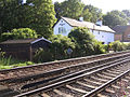 Railway cottages at Woodfidley Crossing, New Forest - geograph.org.uk - 44668.jpg