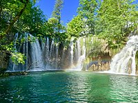 Rainbow at Plitvice Lakes.jpg