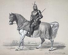 Raja Lal Singh, of First Anglo-Sikh War, 1846.jpg
