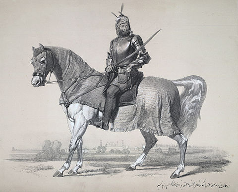 Raja Lal Singh, who led Sikh forces against the British during the First Anglo-Sikh War, 1846 Raja Lal Singh, of First Anglo-Sikh War, 1846.jpg