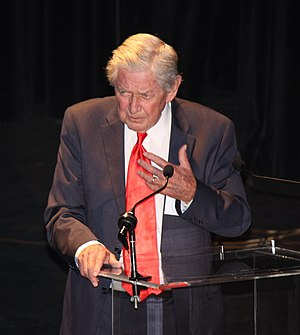 Ralph Waite - Waite at the 40th anniversary of The Waltons on September 29, 2012