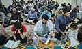 Ramadan 1439 AH, Qur'an reading at Fatima Masumeh Shrine, Qom - 17 May 2018 11.jpg