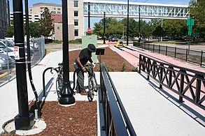Ramp at EVMC Fort Norfolk station.jpg