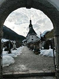 Ramsau bei Berchtesgaden Im Tal 78 Alter Ramsauer Friedhof 001.jpg