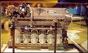 Aircraft engine - Ranger L-440 air-cooled, six-cylinder, inverted, in-line engine used in Fairchild PT-19