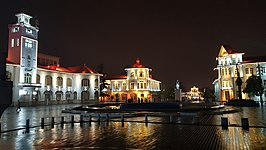 Rasht Municipality Mansion in an Autumn night.jpg