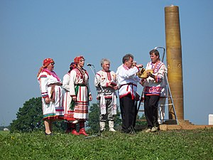 Mordvin native religion - Ritual preparations for the Rasken Ozks.