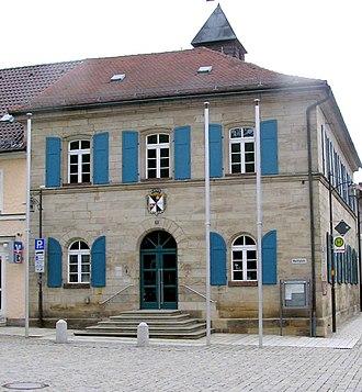 Goldkronach - Town hall Goldkronach