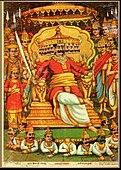 ラークシャサの王ラーヴァナ