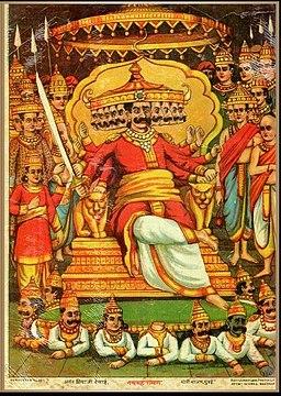 Ravana in Lanka