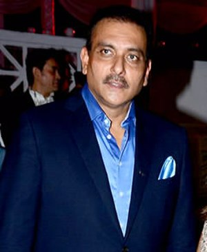 Ravi Shastri - Ravi Shastri in 2015