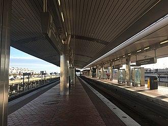 Blue Line (Washington Metro) - Ronald Reagan Washington National Airport Station