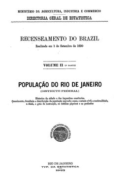 Recenseamento do Brazil (1920) - 03.djvu