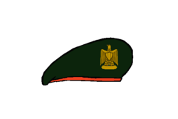 Reconnaissance Beret - Egyptian Army.png