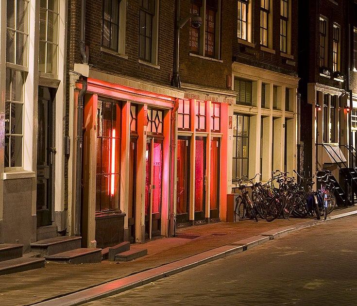 Vitrines du Quartier Rouge d'Amsterdam par Massimo Catarinella