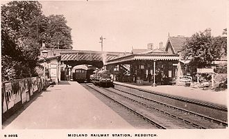 Redditch railway station - The second Redditch station in the 1900s