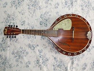 Regal Musical Instrument Company - Regal made a line of mandolins called Blue Comet.