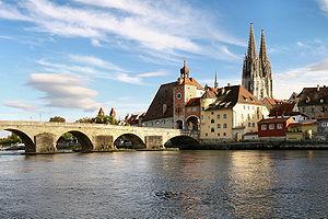 30th U-boat Flotilla - Stone Bridge in Regensburg