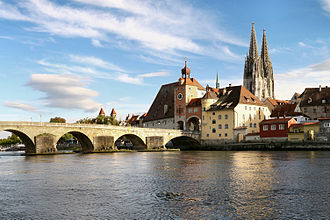 Altstadt - Old Town of Regensburg (UNESCO world heritage)